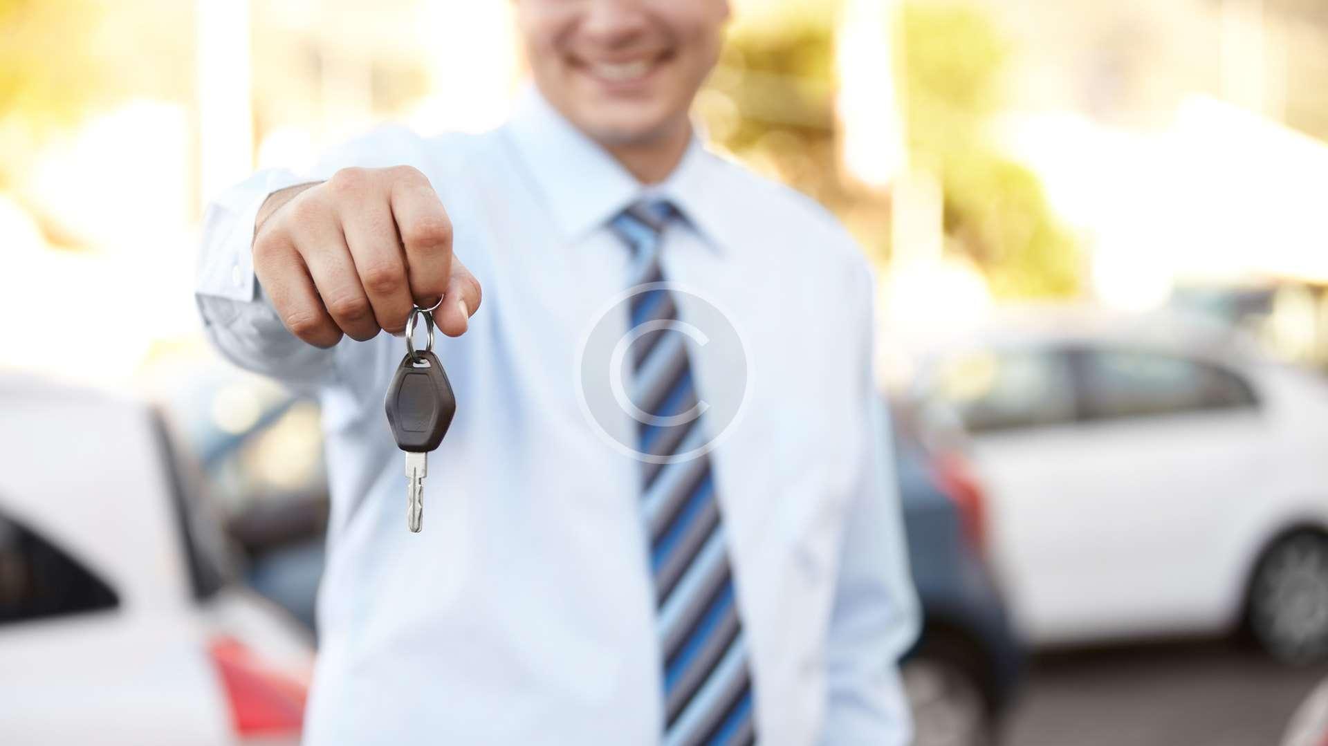 Odbiór naprawionego auta